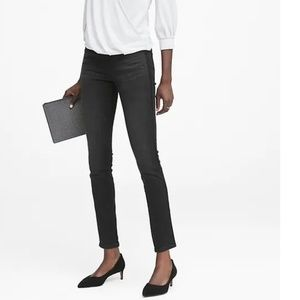 NWT Banana Republic Skinny Jeans Velvet Stripe v6